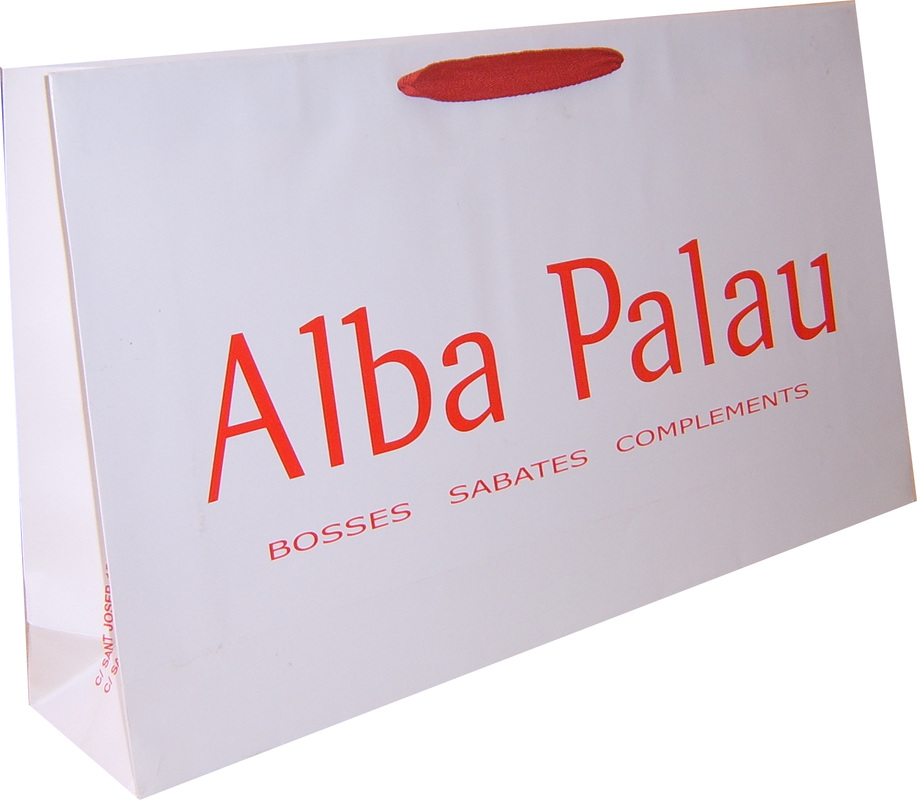luxury paper bags with logo