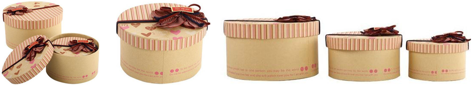 recycled kraft gift boxes