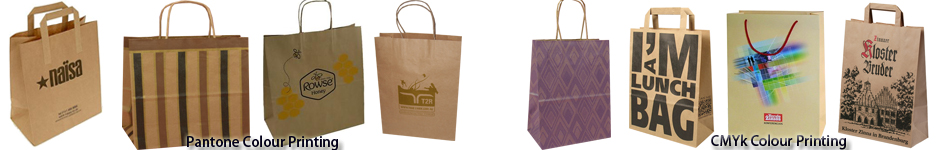 brown kraft bags