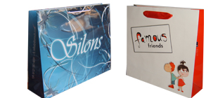 luxury paper bags with full color printing