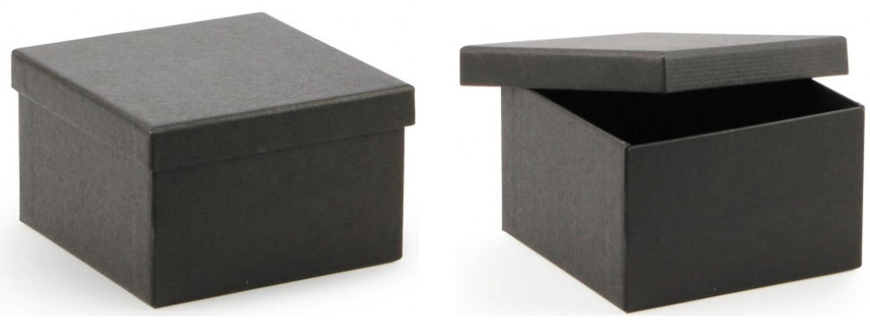 black kraft gift boxes