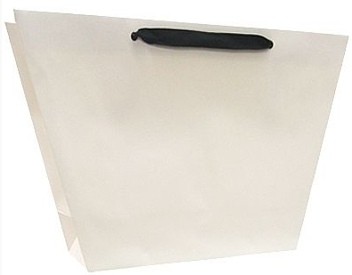 luxury white kraft gift bags