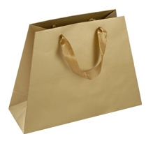 trapezoid gift bags