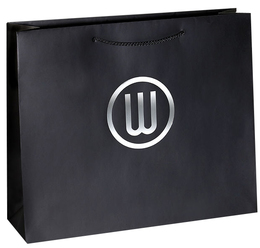 euro tote paper bags with logo