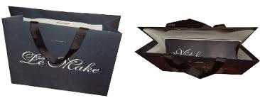 luxury paper bags with interior printing